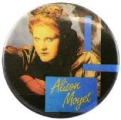 Alison Moyet - 'Alison in Light' Button Badge